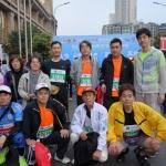 広島市民ランナーとの記念撮影