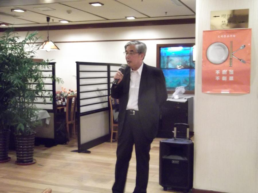 締めの挨拶は岡山県人会様より。また集まりましょう(≧∇≦)/
