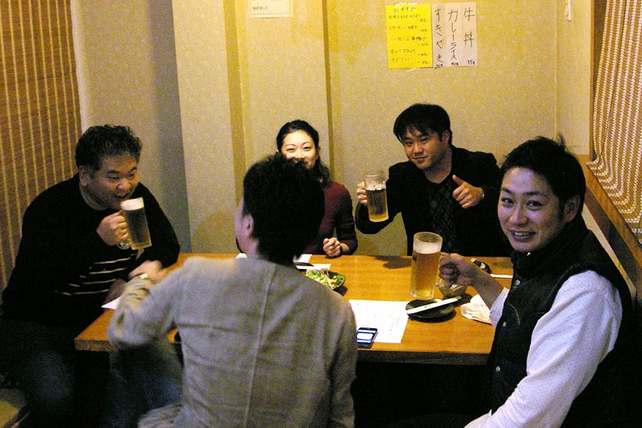 若いメンバー達が集まってます (*´∀`*)★