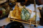 天ぷらも、ぱりっといい感じ♪盛り付けにも大満足。