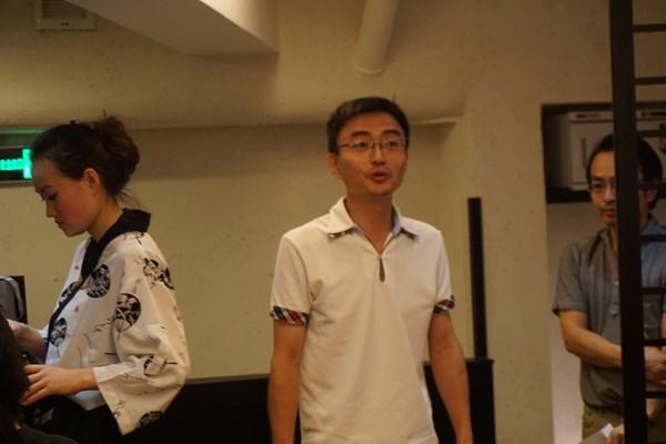 【初参加】広島文化学園大学の大連事務所もやっています。店長の先輩でもあります。