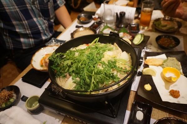 【美酒鍋:2】チーム2の鍋です。テーマは健康!