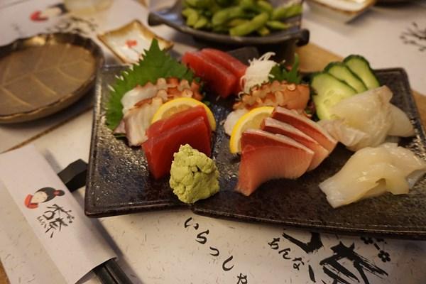 【料理】刺身盛り合わせ。やっぱり瀬戸内海は、魚よね~、日本酒飲みたい-