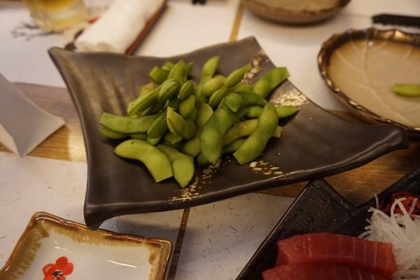 【料理】東広島の山奥で採れた、とれたての枝豆!のつもりで、よばれました。