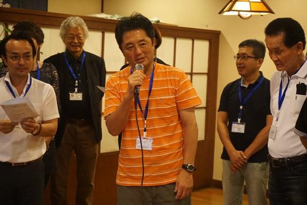 広島で支店が有ります国際物流の社長さんです