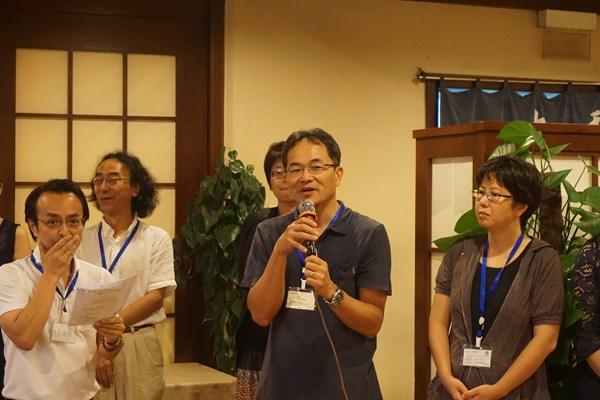 大連のパナソニックで日本の技術を伝えています。広島で大学を卒業しましたよ