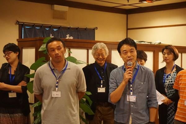 日本航空(JAL)からは、2名のご参加です。快適な空の旅をご提供しますー!