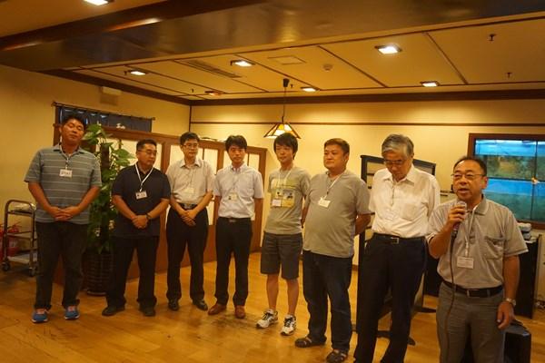 岡山県人会の皆さん