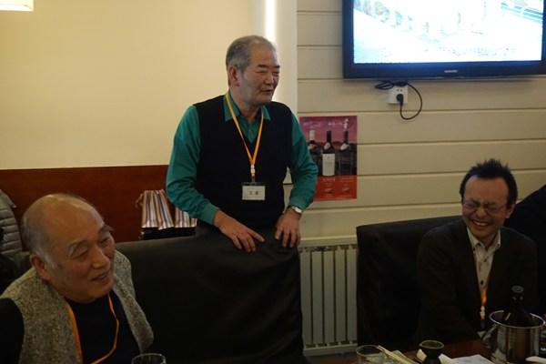 会長です、やっぱり広島県人会が一番じゃね( b'ω')b