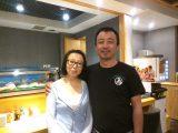 日本語が上手なママさん(奥さん)と腕のいい料理人(旦那さん)ご夫婦