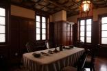 その他2-1 愛新覚羅溥儀の旧家「静園」で撮った写真の紹介。天井も美しいです。